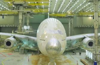 Así se pinta un Airbus A380 [timelapse]