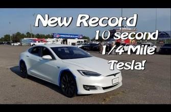 400 m en poco más de 10 segundos: Este Model S de Tesla deja tirados a la mayoría de súper coches
