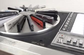 Así era el iPod de los 70: Reproductor automático de 20 cintas de cassette de Panasonic