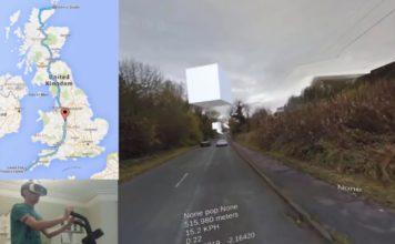 Recorriendo el Reino Unido en bici virtual