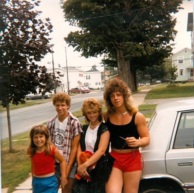 Estilos de Pelo de los Años 80