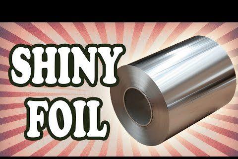 No, el lado mate del papel de aluminio no es malo para la salud