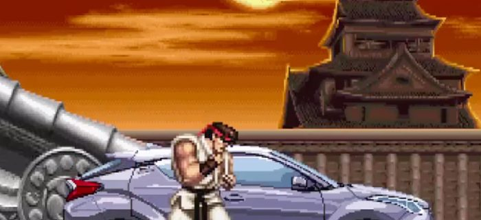 Toyota utiliza el Street Fighter II para anunciar su nuevo C-HR en Japón