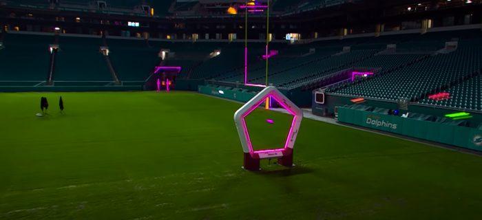 Así de espectacular es la Drone Racing League, carreras de drones a toda velocidad