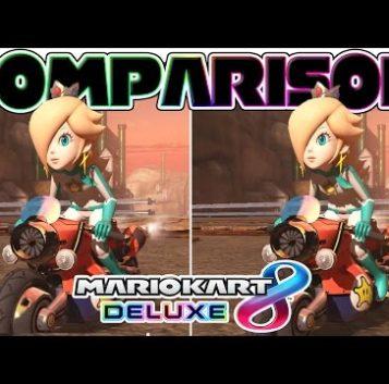 Diferencias entre Mario Kart 8 para Nintendo Switch y Wii U