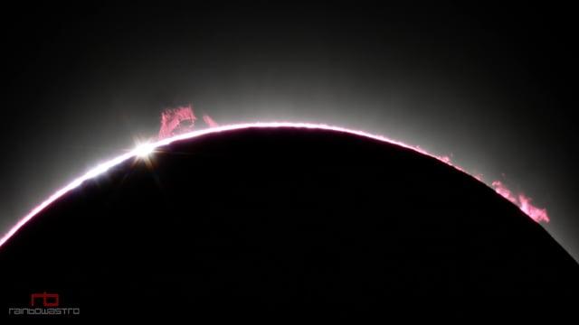 Este vídeo del gran eclipse norteamericano te dejará con la boca abierta