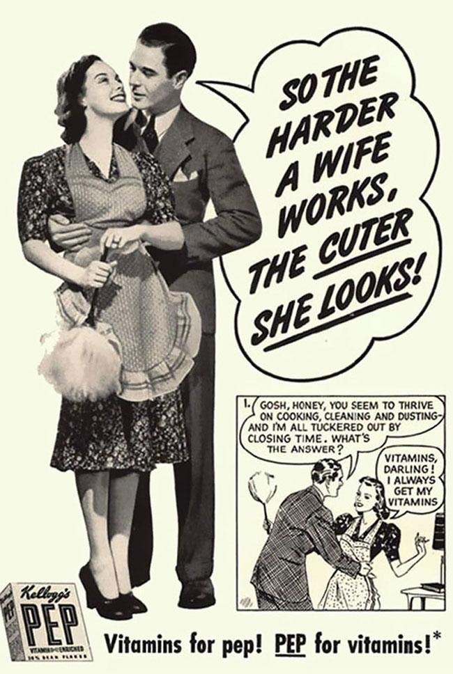 Anuncio Vintage políticamente incorrecto