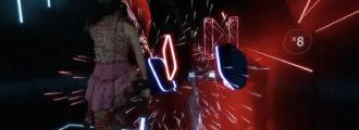 Beat Saber: Música + sables láser de Star Wars + Realidad virtual = un juego alucinante
