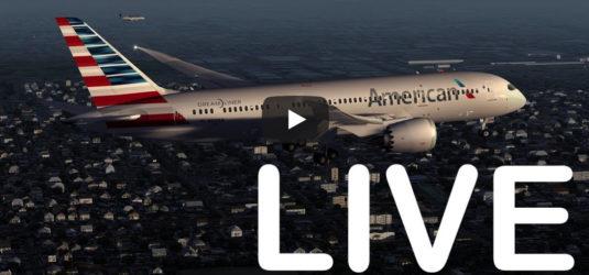Este vídeo es una simulación en tiempo real de todos los despegues y aterrizajes de LAX, el Aeropuerto Internacional de Los Ángeles