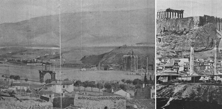 Atenas en 1845