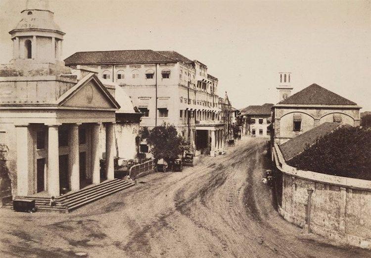 Bombay en 1850