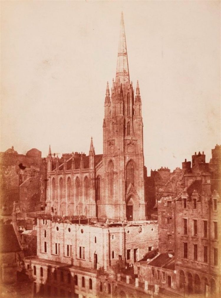 Edinburgo en 1848