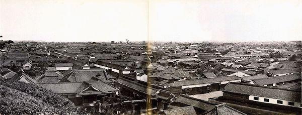 Tokio en 1865