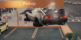Anuncio de TV de Wallmart con coches míticos de nuestra infancia